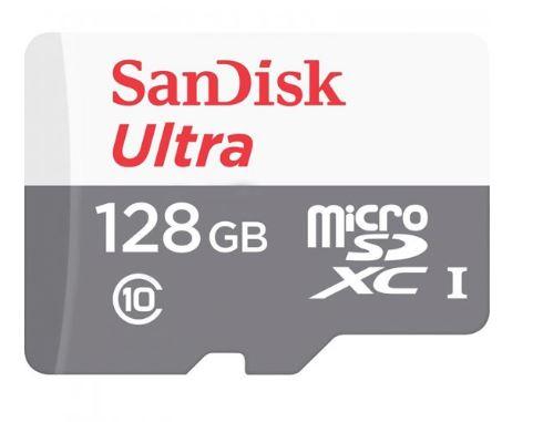 כרטיס זכרון 128 ג'יגה SanDisk Ultra Micro SDXC SDSQUNS-128G-6N6MN