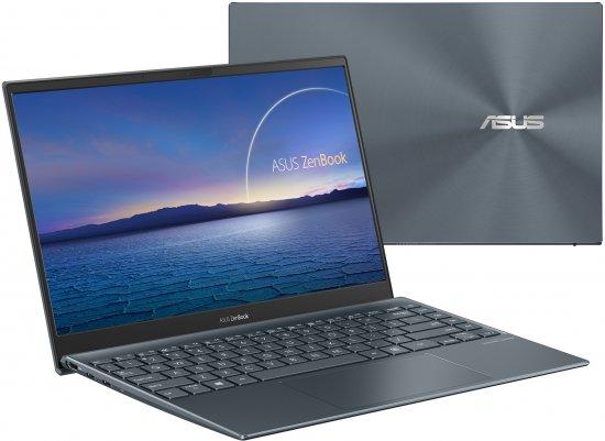 מחשב נייד Asus Zenbook 13 i5-1135G7, 8GB RAM, 512GB SSD UX325EA-KG230T - צבע אפור